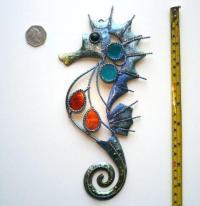 Blue Metal Wall Art | eBay