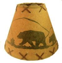 Rustic Bear Lamp | eBay