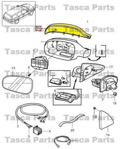 volvo wiring diagram for side mirror