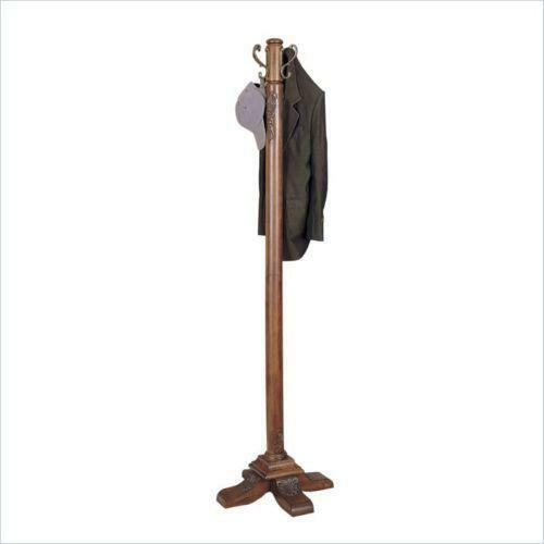 Standing Wood Coat Rack Ebay