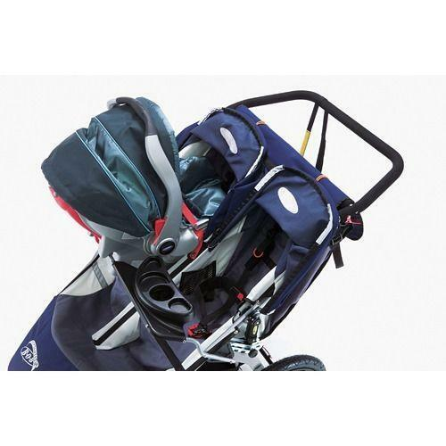 Twin Stroller With Infant Car Seats Double Stroller Car Seat Ebay