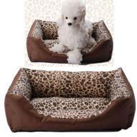Leopard Print Dog Bed   eBay