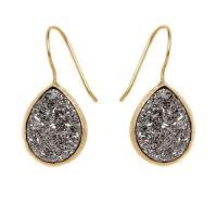 Drusy Quartz Earrings | eBay