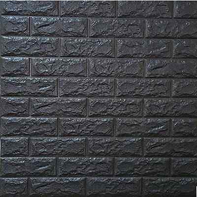 Pe Foam 3d Wallpaper 3d Diy Brick Wall Sticker Self Adhesive Colorful Foam