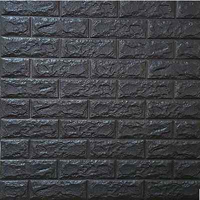 Lifelike 3d Wallpaper 3d Diy Brick Wall Sticker Self Adhesive Colorful Foam