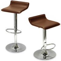 Brown Leather Bar Stools | eBay