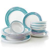 Turquoise Dinnerware Set | eBay