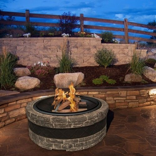 How To Build A Fire Pit On A Concrete Patio Ebay