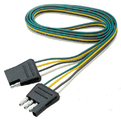 60 Inch Long Flat 4 Way Boat Trailer Wiring Harness Extension eBay