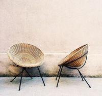 Mid Century Modern Wicker. | eBay