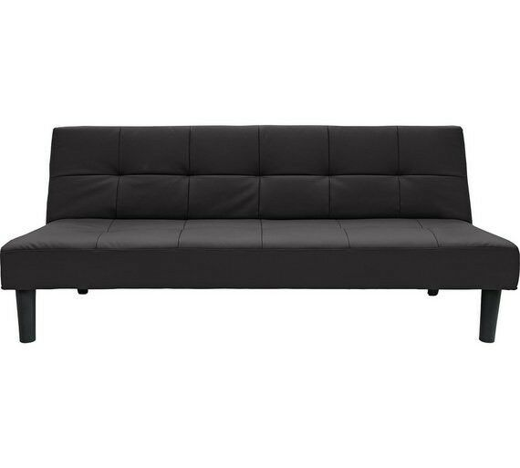 Home Patsy 2 Seater Clic Clac Sofa Bed Black By Home By - Sofa Bed Argos London
