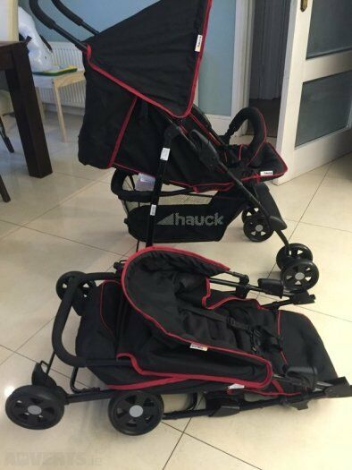 Double Pushchair With Buggy Board Hauck Sport Buggy Pushchair Pram Stroler Could