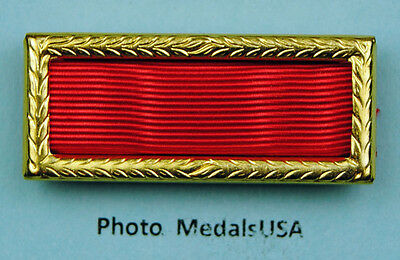 Army Meritorious Unit Commendation Award Ribbon With Large