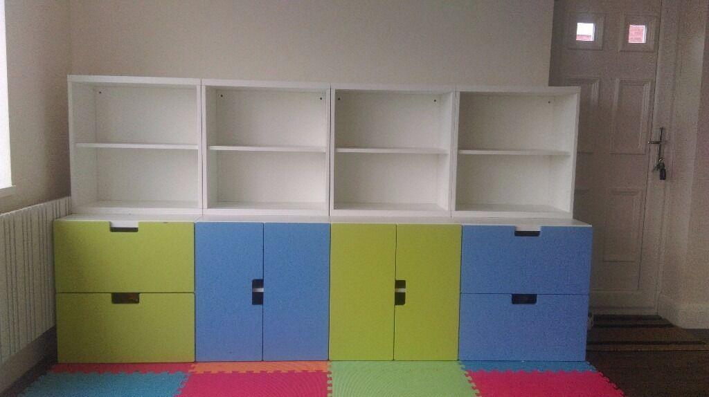 Stuva Storage Ikea Childrens Bedroom Toy Room Cupboard