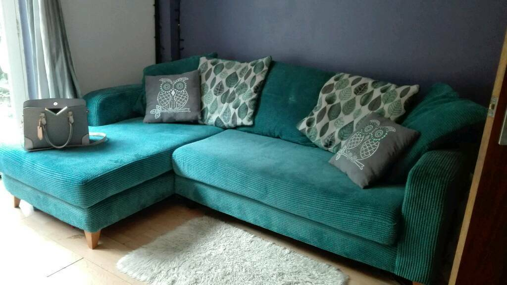 Grey Sofa Gumtree Belfast Dfs Teal Cushion Back Corner Sofa | In Bradwell, Norfolk