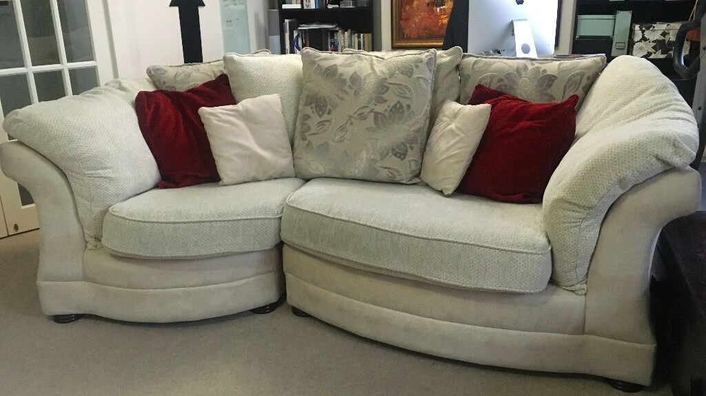 Sofas For Sale Gumtree Dorset **reduced** Lebus Maria Snuggle 3 Seater Sofa For Sale