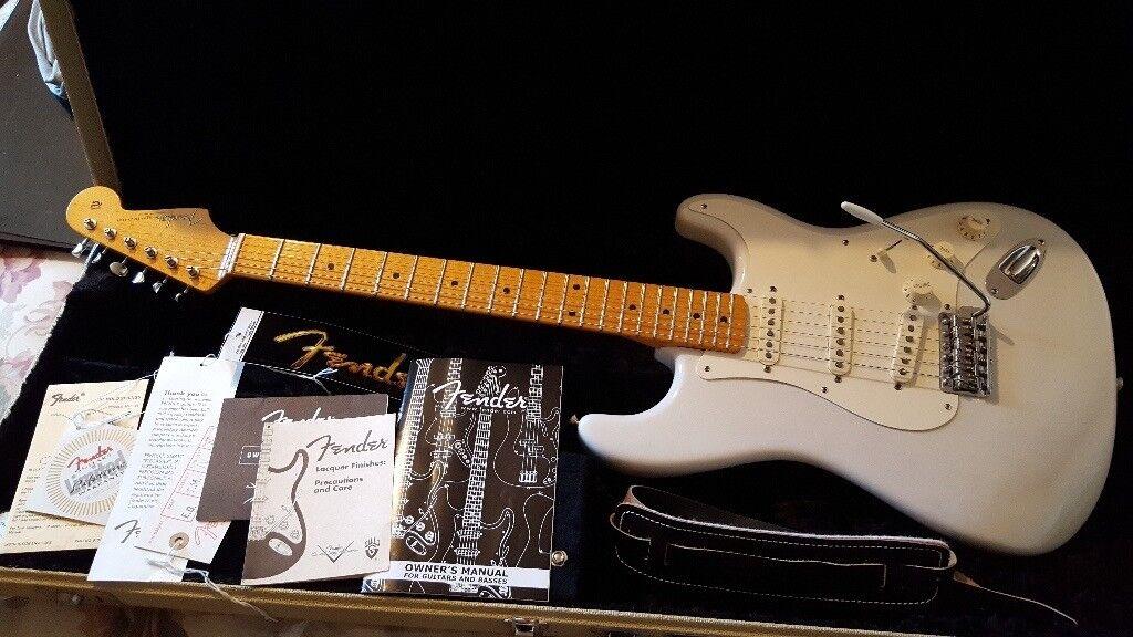 Fender Eric Johnson Stratocaster Blonde In Forfar