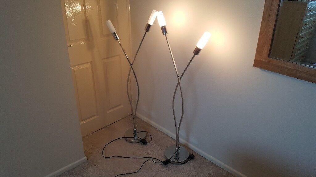 Next Barcelona Floor Lamps X2 In Binley West Midlands