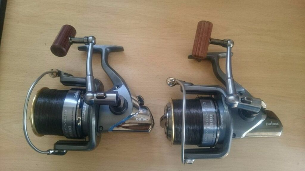 Daiwa Emcast Advanced 5500 Ab Big Pit Carp Reels In
