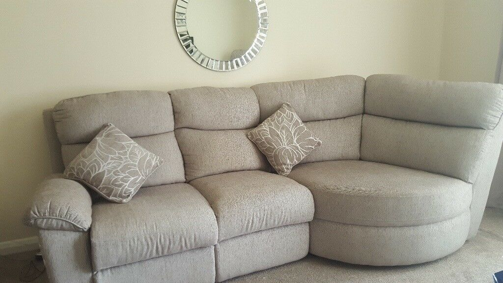 Corner Sofa Matching Chair Reduced For Quick Sale In