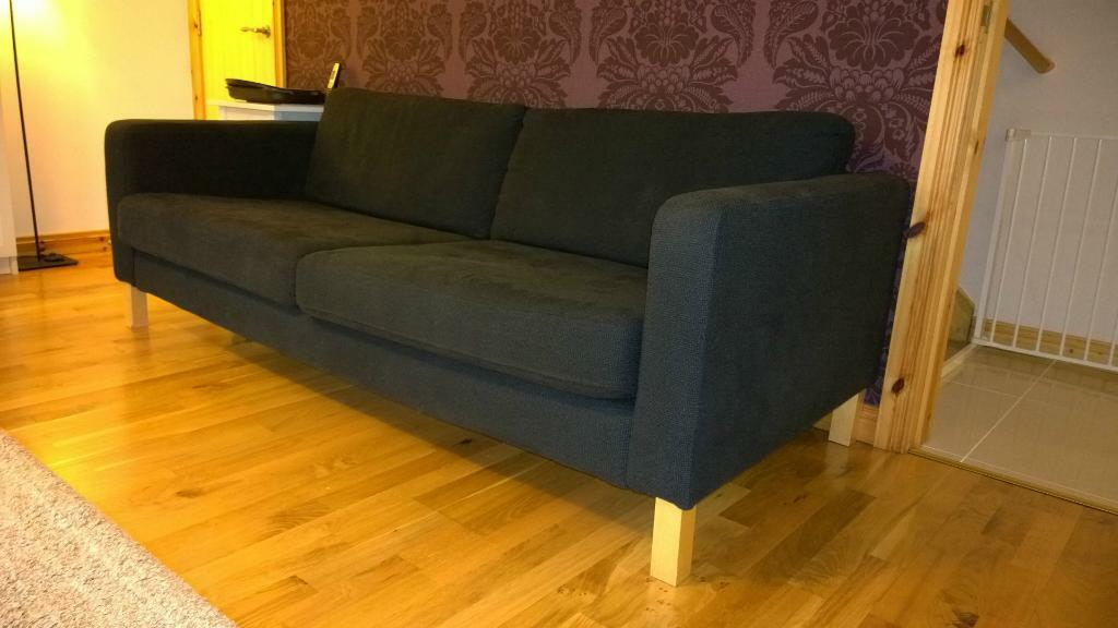 Sofas For Sale Gumtree Northern Ireland Karlstad Three-seat Sofa – Removable And Washable Cover