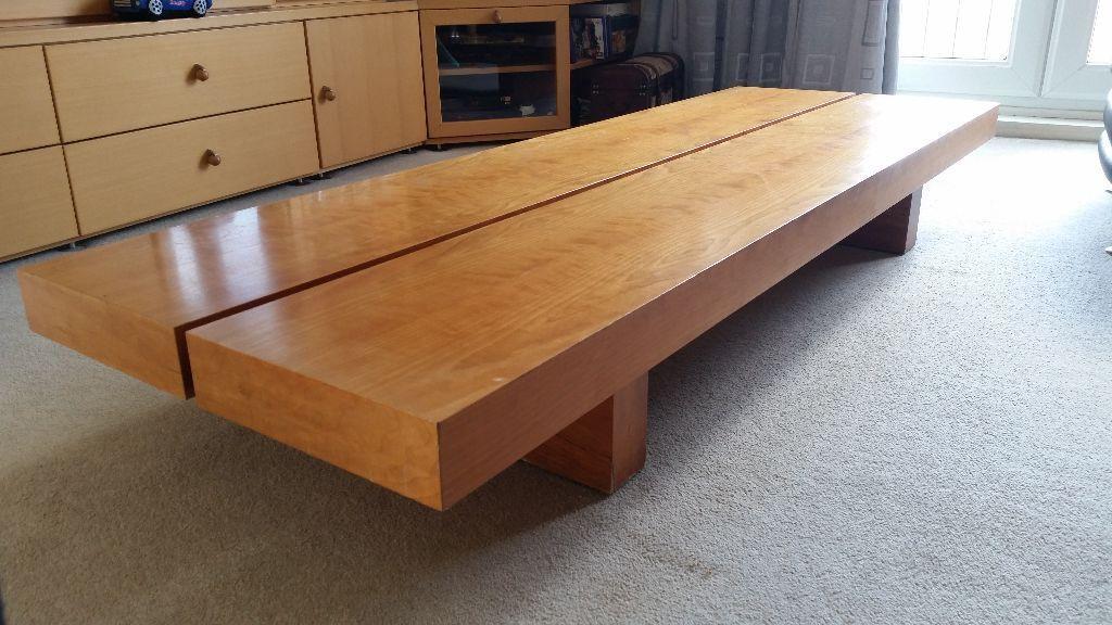 Habitat Japanese style low coffee table