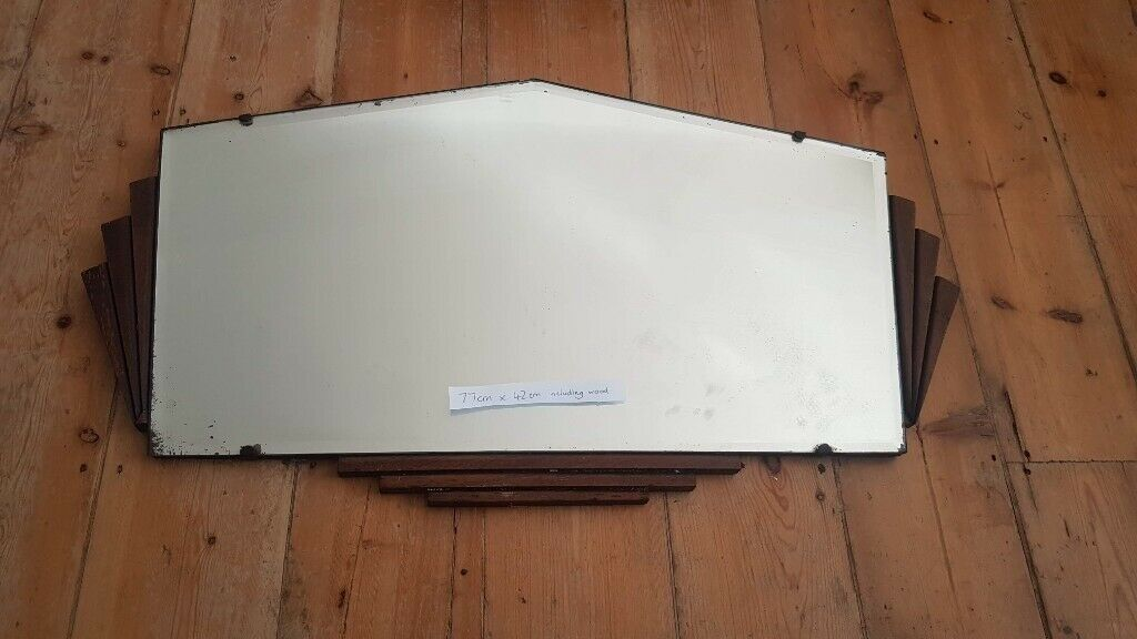 Large Mirrors Gumtree London Vintage Retro Antique Art Deco Wall Mirror In Blackheath