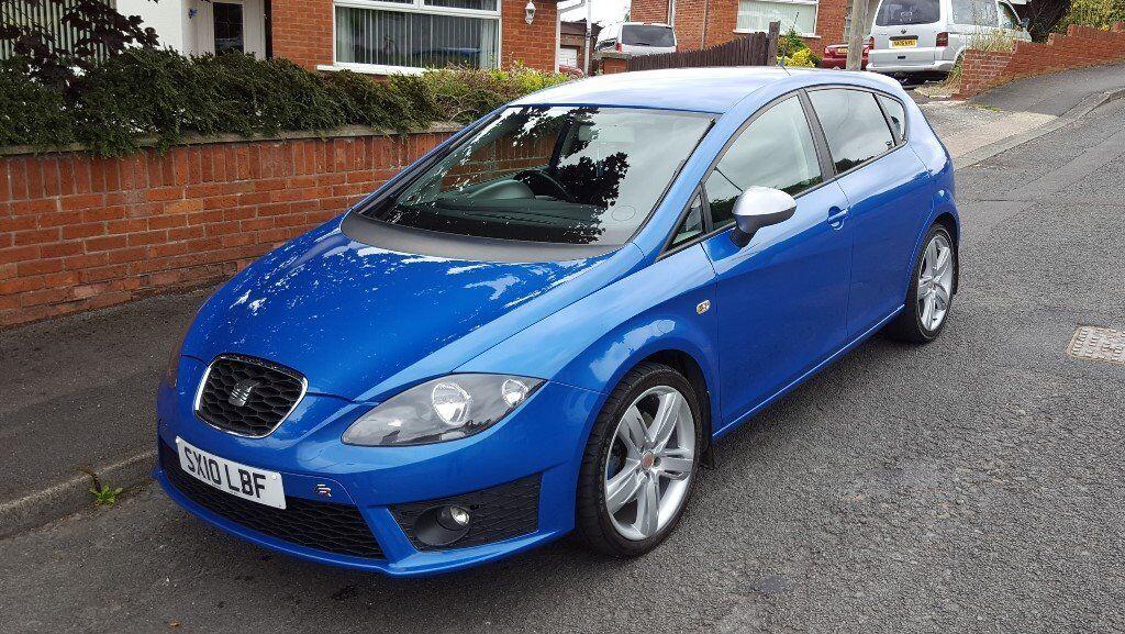 2010 Facelift Seat Leon 20 Fr Tdi 170bhp Speed Blue In