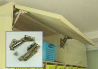Spring Loaded Kitchen Cabinet Door Lift Assist Hinges Stay ...