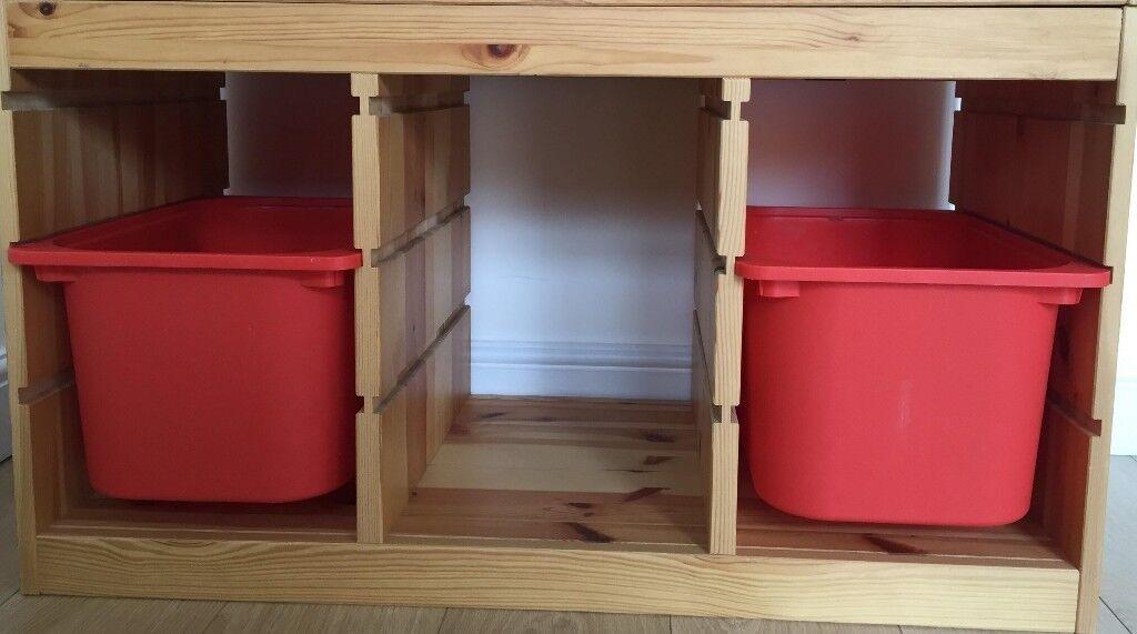 Ikea Pine Trofast Storage Unit In Rogerstone Newport