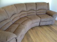Curved Recliner Sofa Curved Reclining Sofa Foter - TheSofa