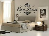 SWEET DREAMS Wall Art Decal Girls Quote Vinyl Home Decor ...