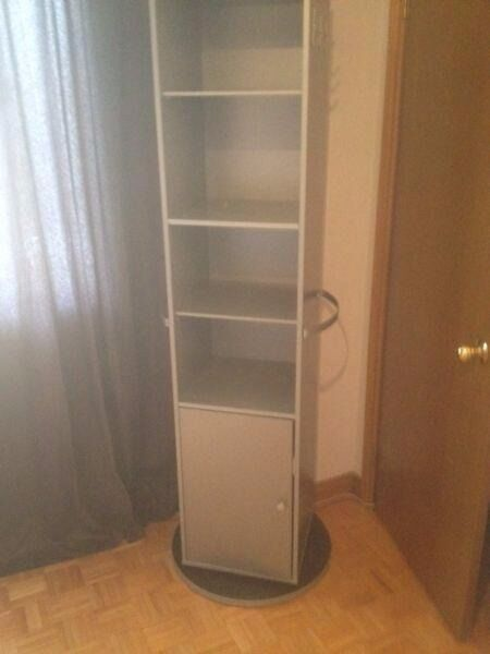 Ikea Kajak Rotating Mirror Storage Unit Cupboard In