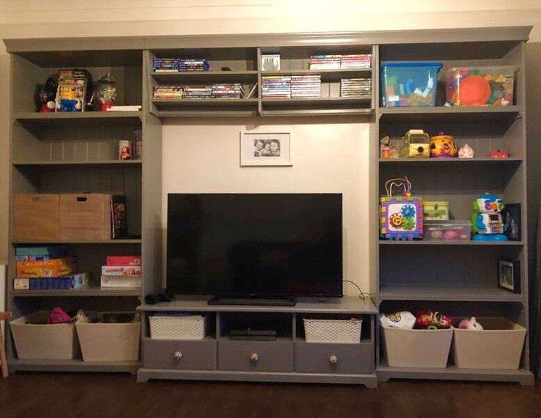 Smalle Kledingkast Ikea Good Ikea Liatorp Grey Bookshelves Tv Storage Combi Unit