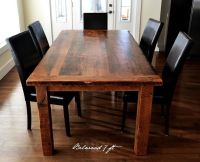 Rustic Reclaimed 'Threshing Floor' Harvest Tables | dining ...