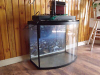 26 gallon bow tank no stand or leaks 150.00 48 gallon 39 by15, 20