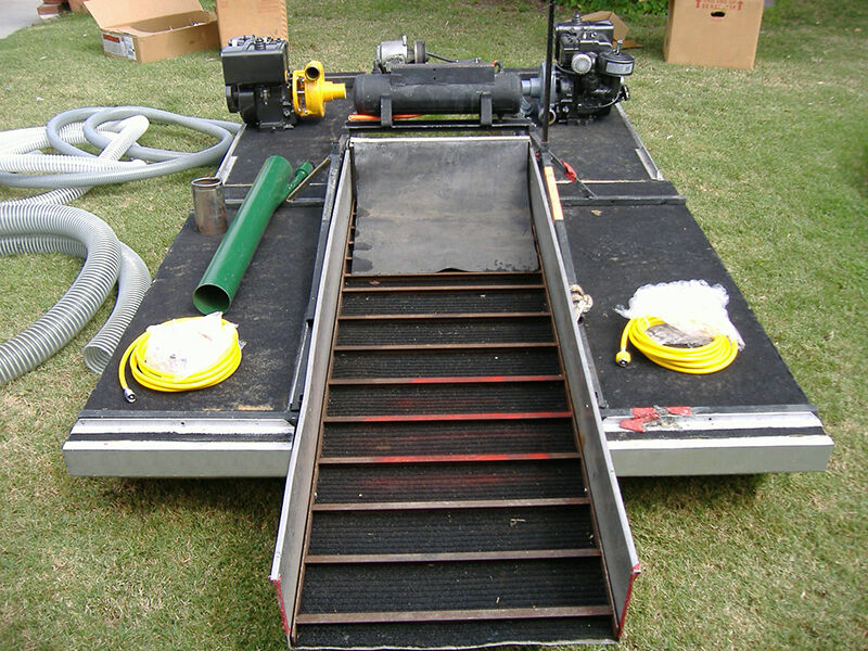 How To Build A Gold Dredge Ebay