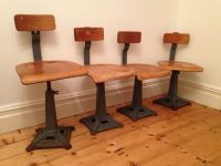 Singer Sewing Machine Chair Original Vintage Shabby Chic ...