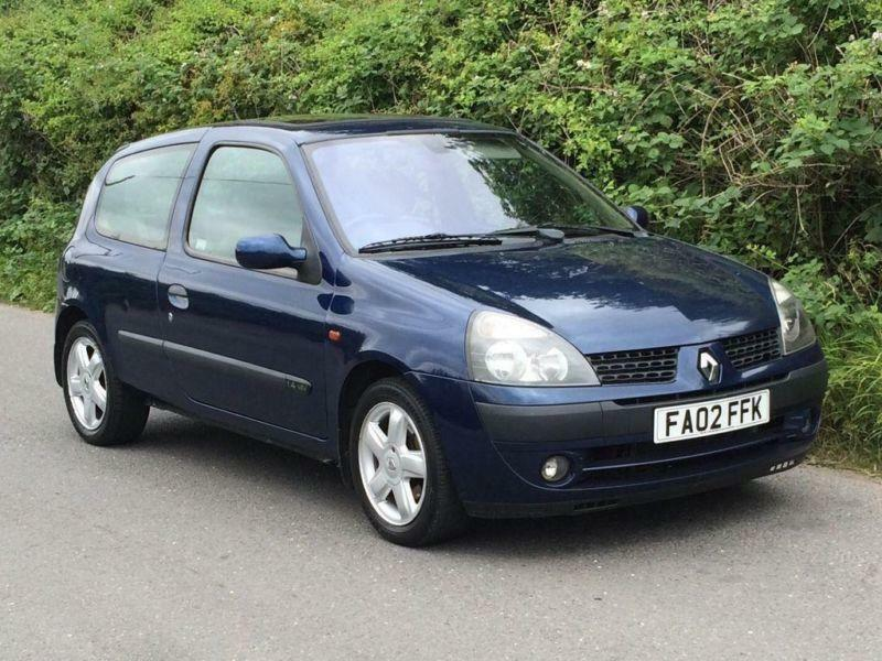 2002 renault clio owners manual