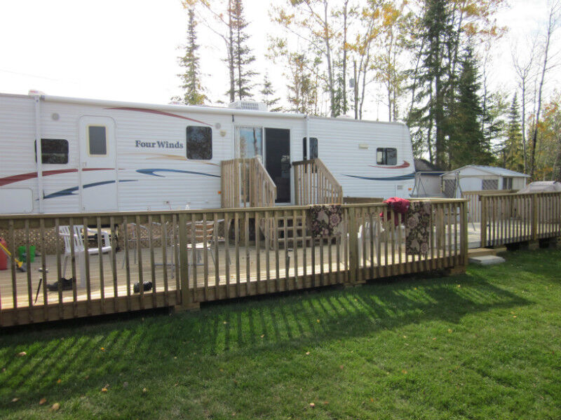 Kashabowie Lake Thunder Bay Trailer Park Camp Ground - Trailers Thunder Bay