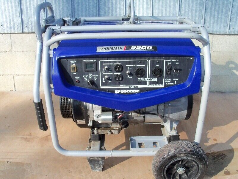 New Price Portable Yamaha Generator Ef5500de Electric - Storage Mississauga Prices