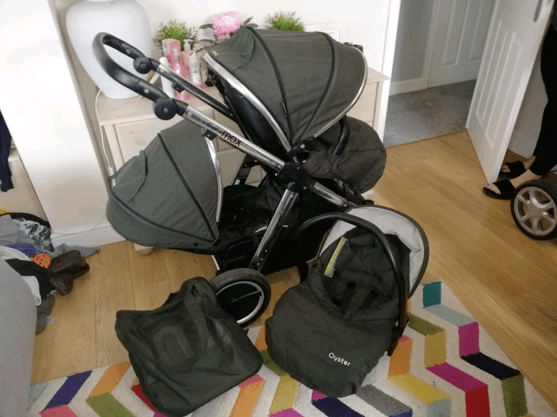 Oyster Double Pram Mothercare Babystyle Oyster Max 2 Double Pram Pushchair In