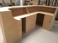 How to Build a Curved Reception Desk | eBay