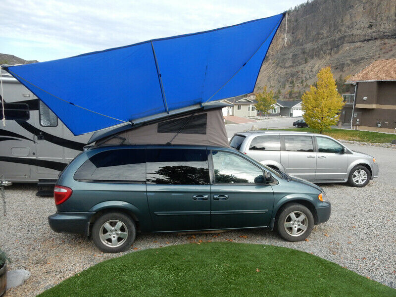 Camper Van 2005 Grand Caravan Sxt Cars Trucks - Car Rental Penticton