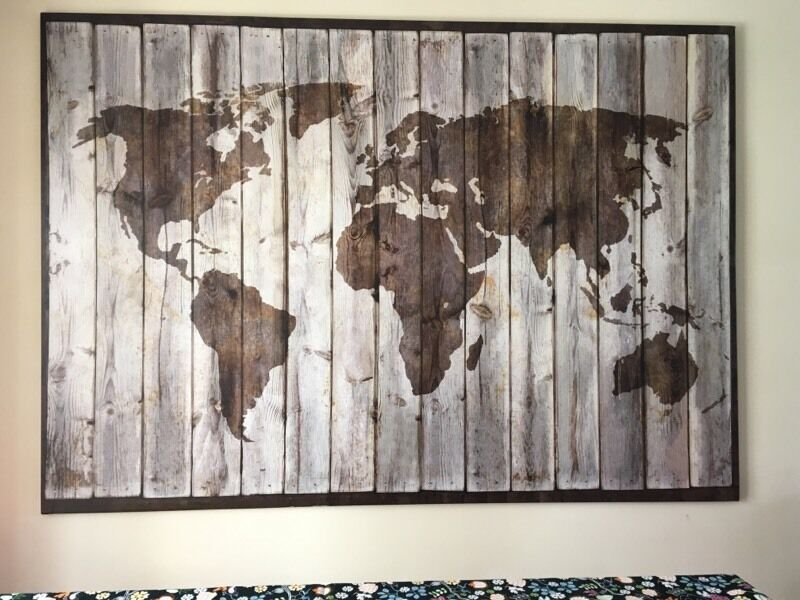 Ikea Locations Map Large Ikea Map Canvas | In Llantwit Major, Vale Of