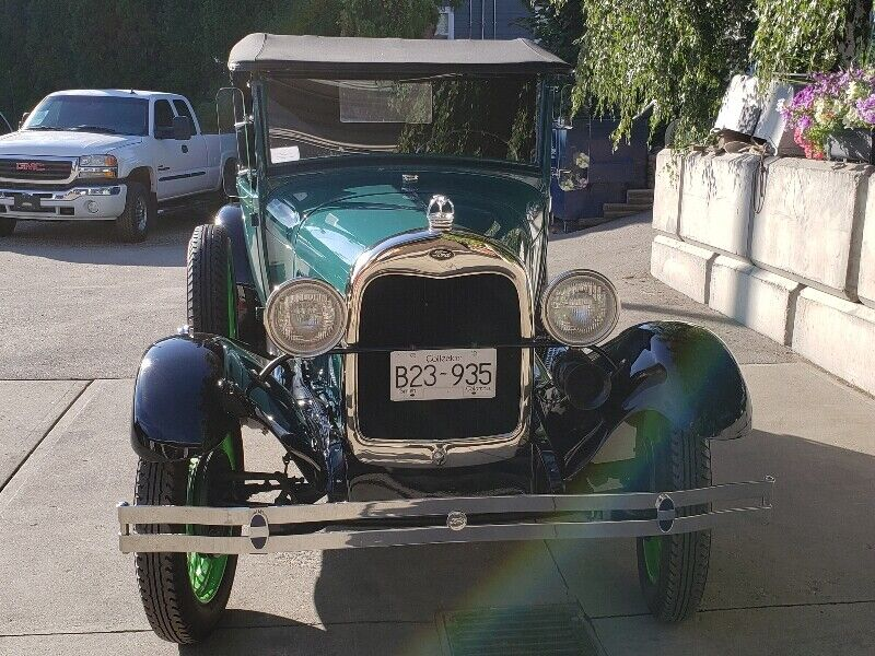 1929 Model A Roadster Pickup Classic Cars Penticton - Car Rental Penticton