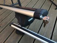 Exodus Aero Roof Bars with Thule footpack to fit ford ...