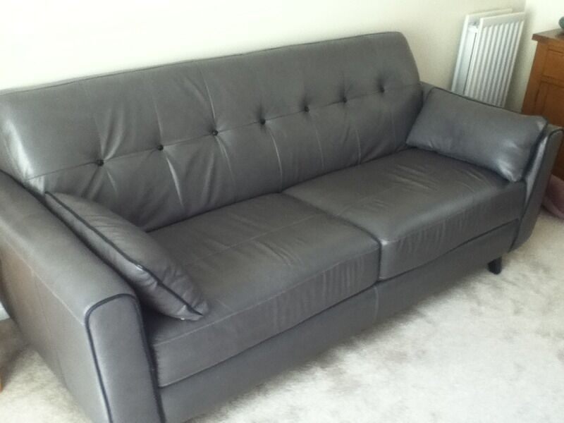 Sofas For Sale East Yorkshire Leather 3 Seater Sofa And Love Chair And Foot Stool | In