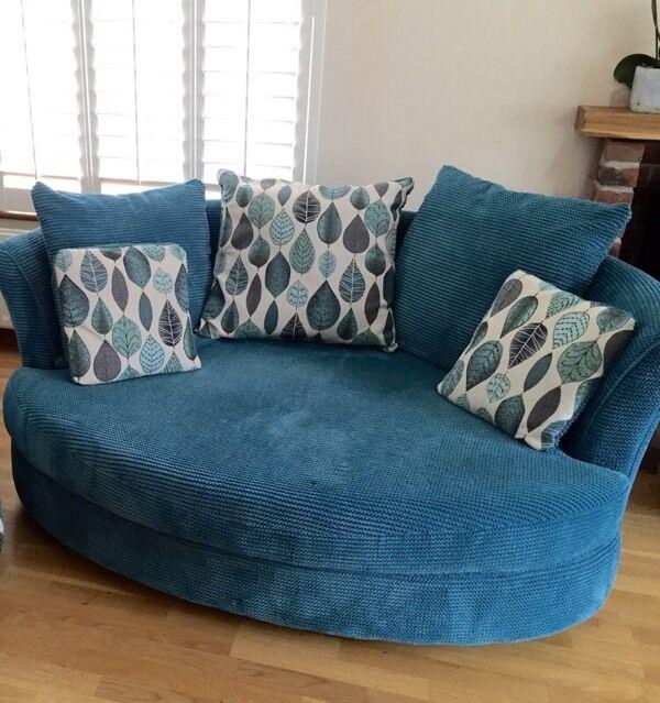 Stunning Dfs Cuddle Chair In Verwood Dorset Gumtree