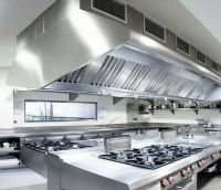 Restaurant Kitchen commercial extractor fan and canopy